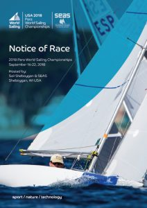RS SSailing Para World Championship 2018