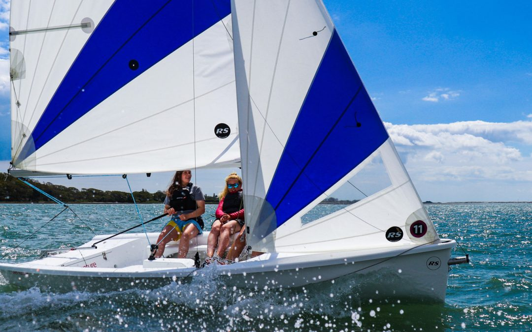 RS Venture – more space, stability and exciting features than almost any other dinghy