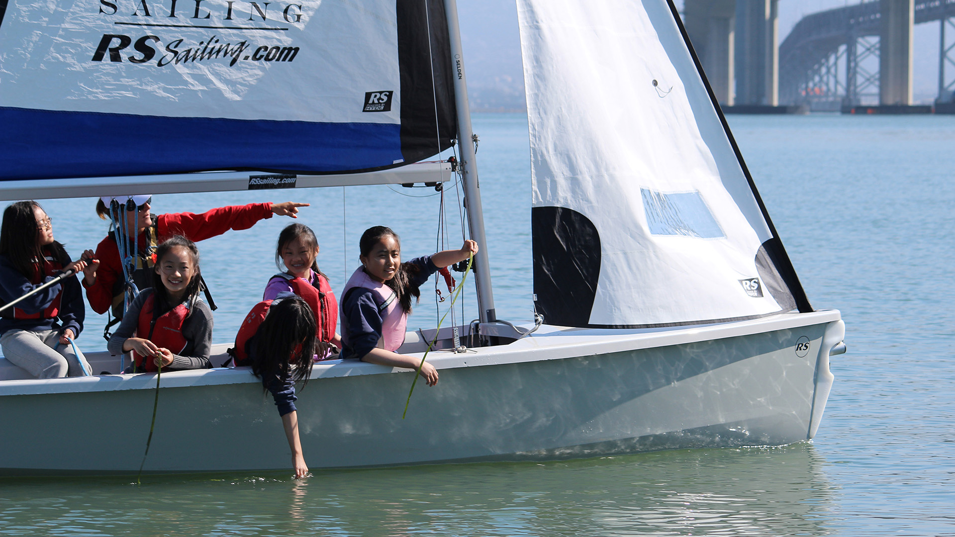 RS Venture –stability and exciting features than almost any other dinghy