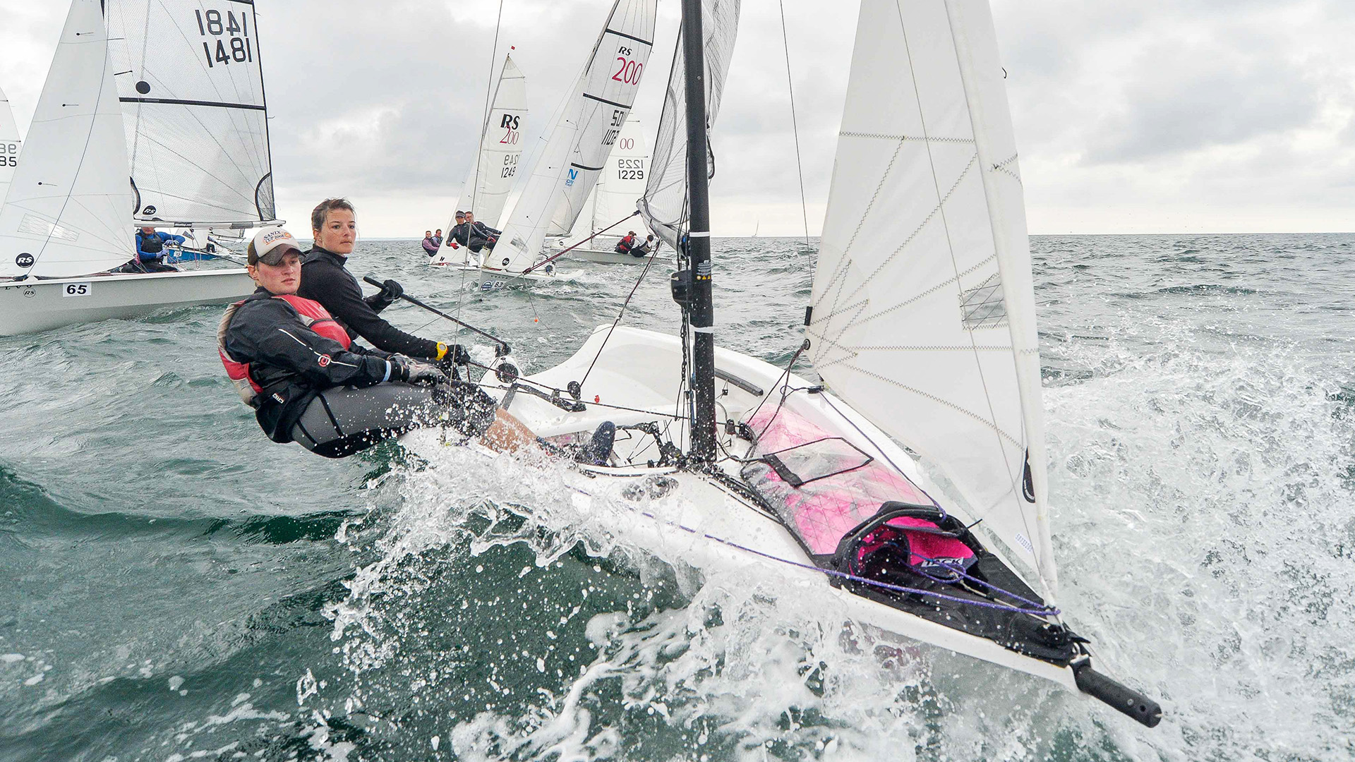 Rs200 Hugely Successful Modern Double Handed Racing Class