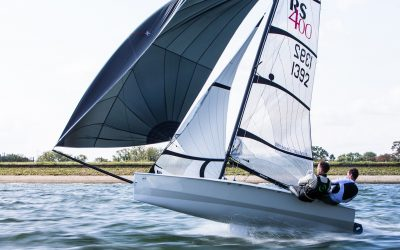 RS400 Inland Championships – It takes a lot to keep the 400s away