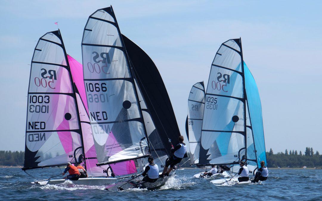 Dit weekend wordt in Bruinisse (Zeeland) het Open Nederlands Kampioenschap gevaren in de RS500 en RS Aero