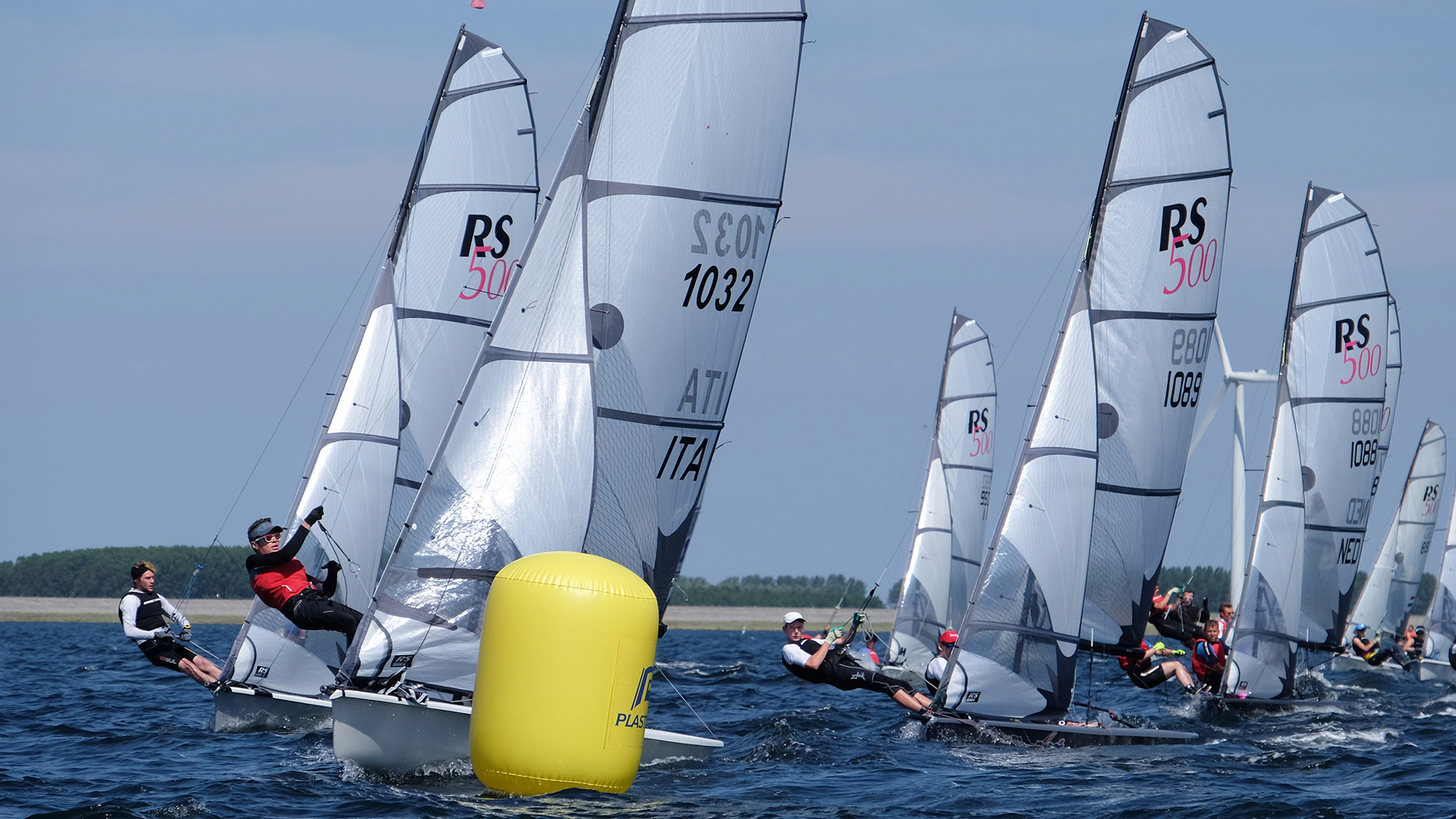 rs500 u2013 international double hander with gennaker trapeze and