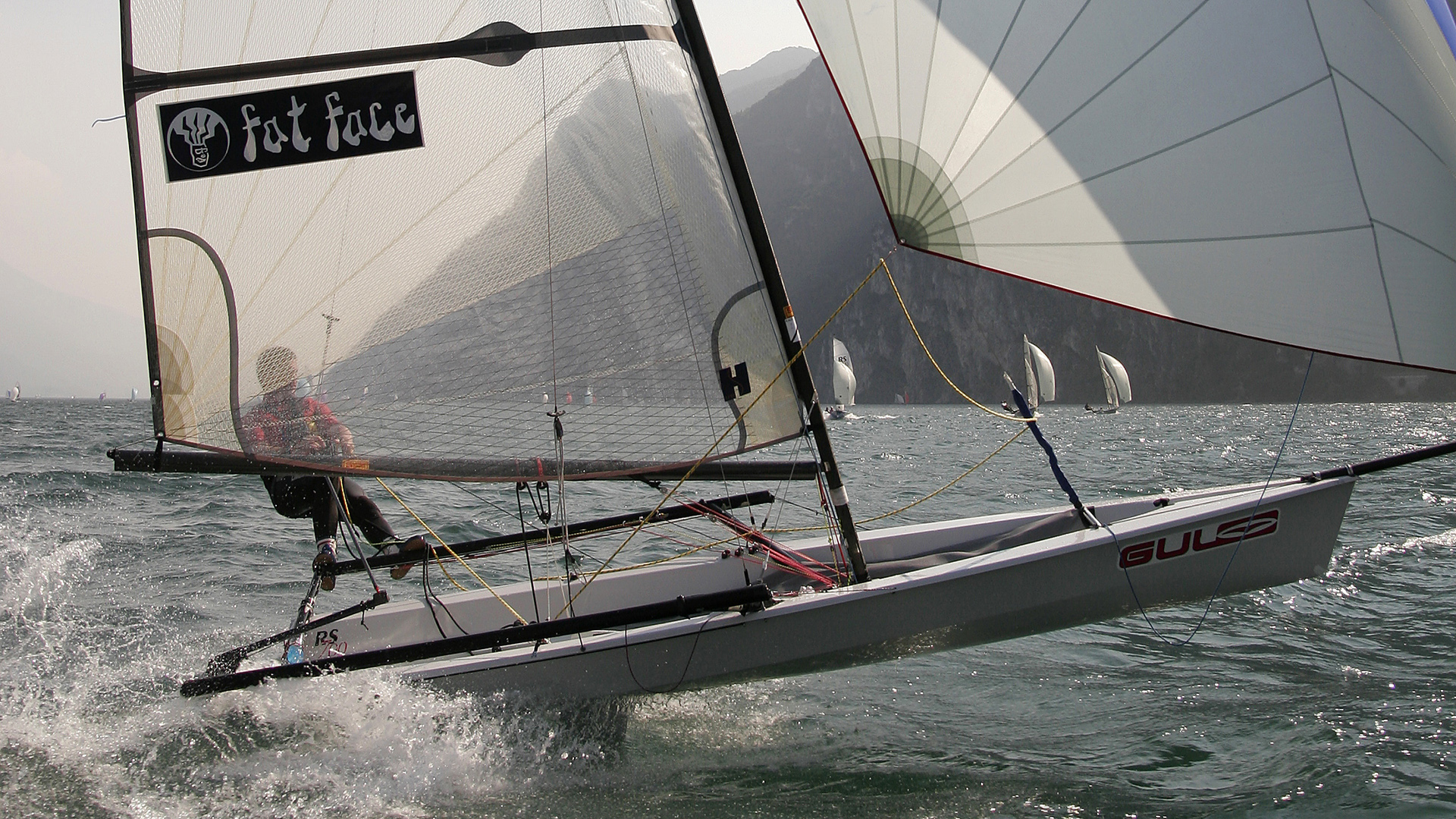 Rs700 High Performance Single Handed Skiff With Trapeze