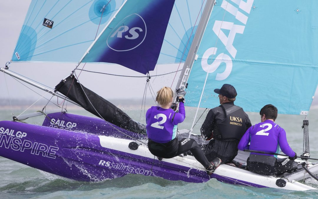 SailGP Inspire announces community outreach programs at Marseille SailGP