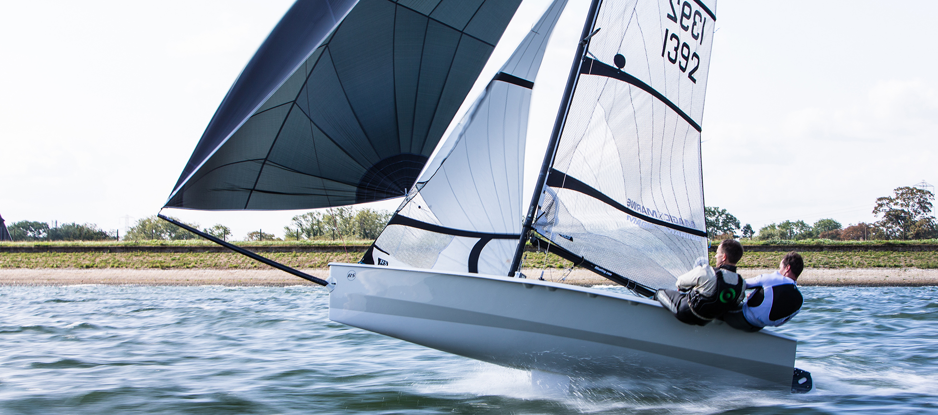 RS400 – The modern classic – one of the first RS boats and a thriving, double-handed class