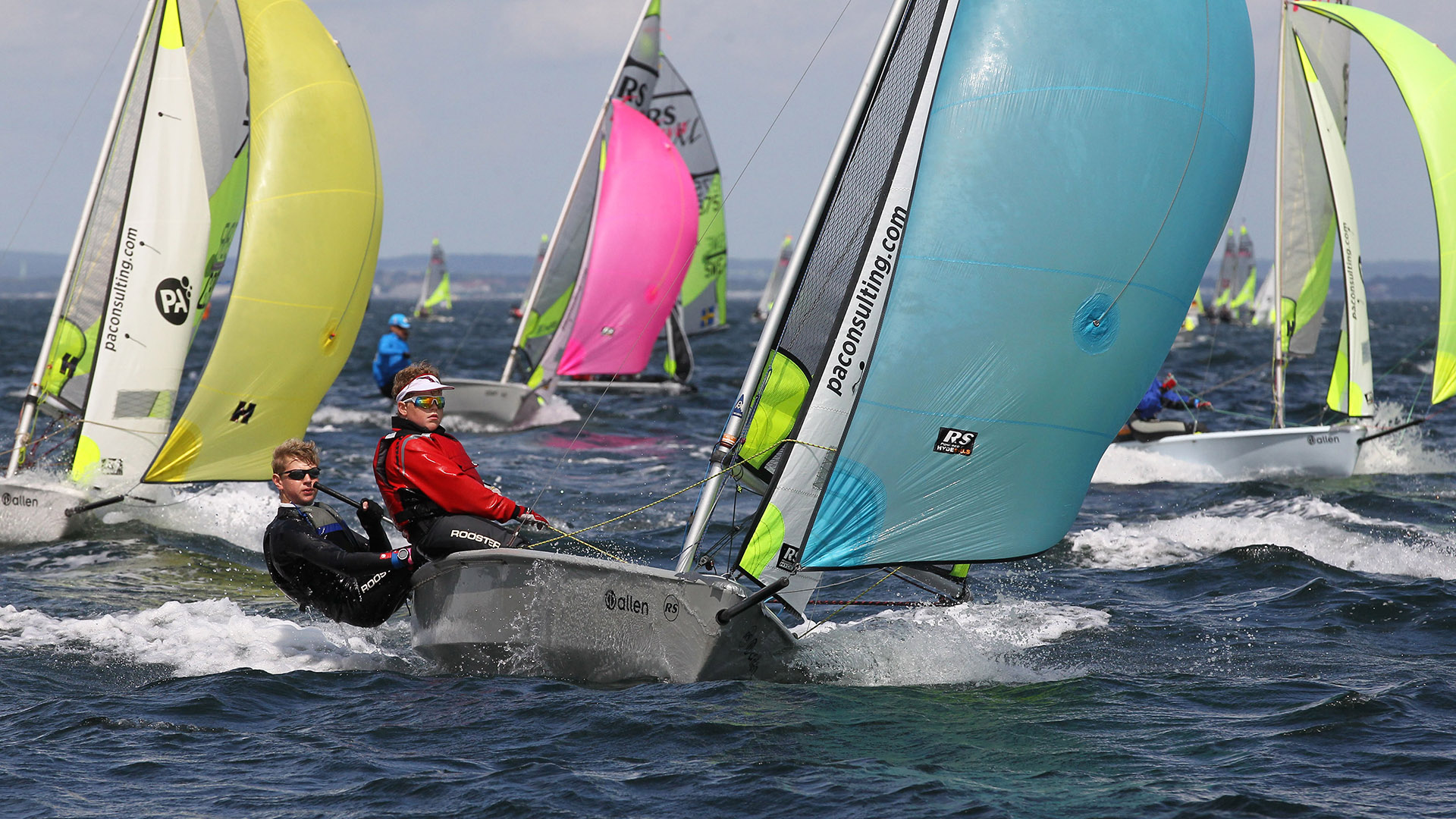 Rs Feva World Leading Double Hander With A Vibrant Class
