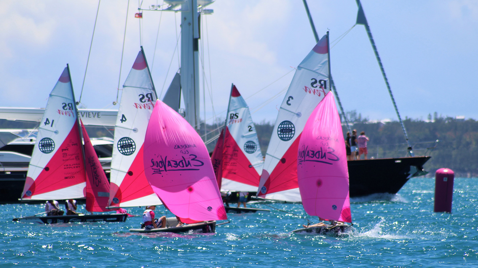 RS Sailing, the world's largest small-sailboat manufacturer.