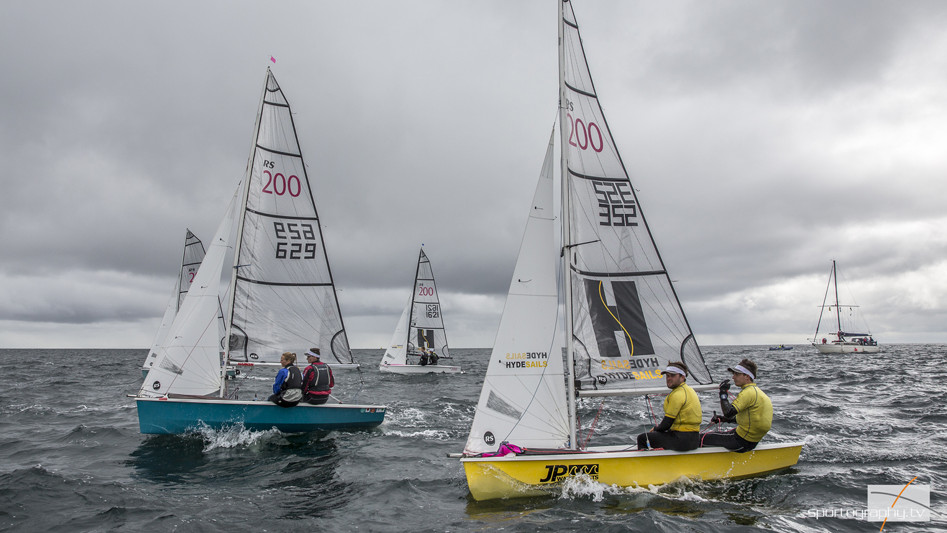 RS200 National Champions, a fabulous championship with close racing throughout the 100 boat fleet.