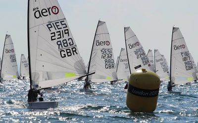 RS Aeros at the Puget Sound Sailing Champs – Corinthian YC, Seattle, USA