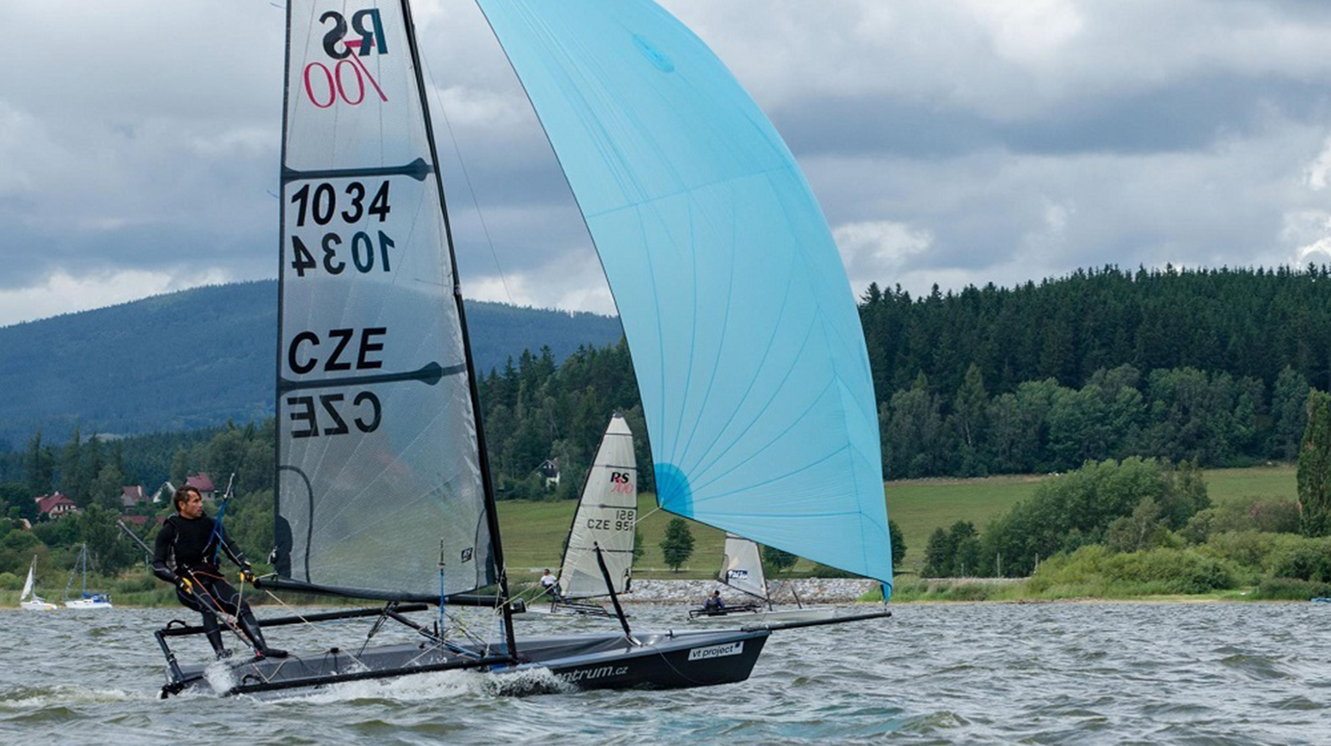 Lake Lipno in the Czech Republic was the spectacular venue for the 2017 RS700 European Championship.