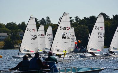 RS Aeros at the Massapoag Yacht Club 68th Annual Regatta