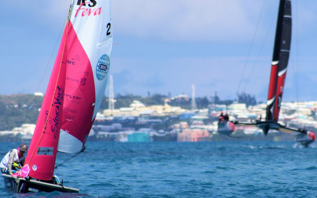 America's Cup Endeavour Junior RS Feva Regatta