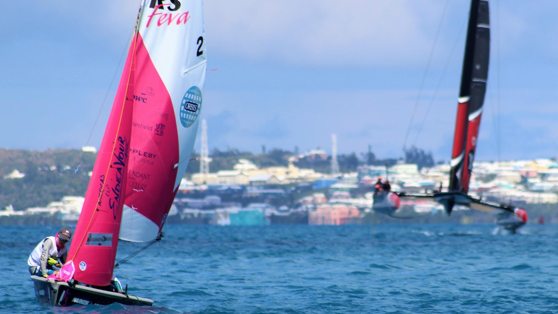 America's Cup Endeavour RS Feva Junior Regatta, Bermuda 2017