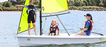 RS Zest – New generation compact sailboat with leading features for families and training centres