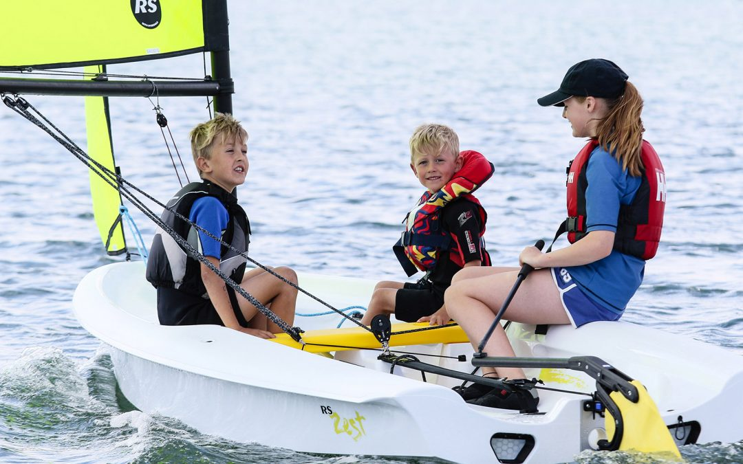 Getting Kids Into Sailing