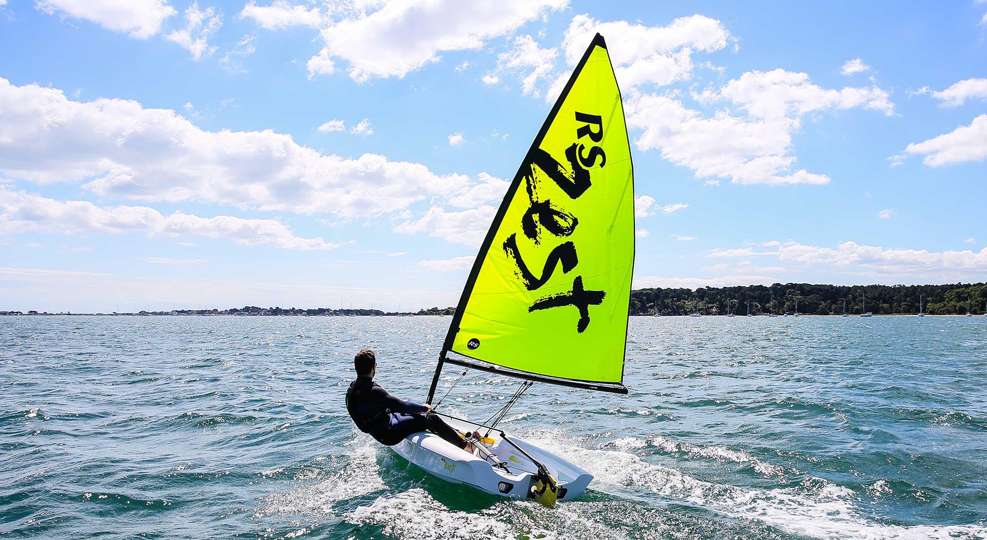 The RS Zest has been designed as a small sailboat training dinghies for a variety of skill level and ability.