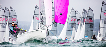 RS200 – hugely successful modern double-handed racing class – for moderate size teams