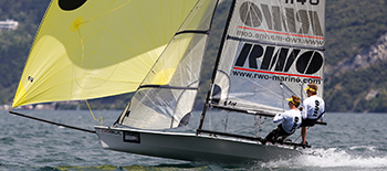 RS800 – double-handed, performance equalised and thrilling twin wire skiff for all