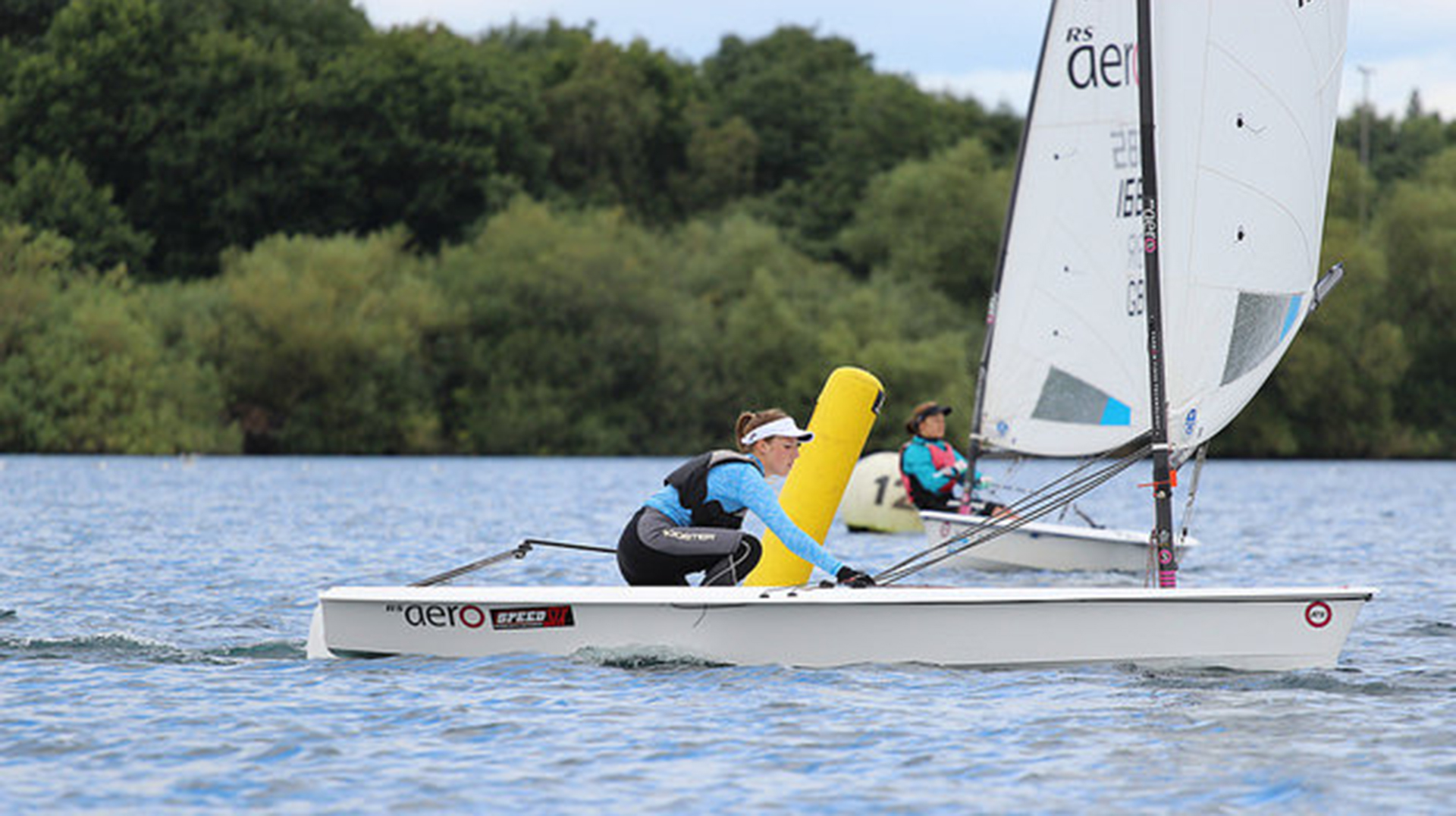 Speed Six RS Aero UK Youth Nationals 2017, Burghfield Sailing Club.