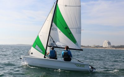 The Community Boating Center has launched a new fleet of RS Quest sailboats to meet growing demand for sailboat lessons and rentals.