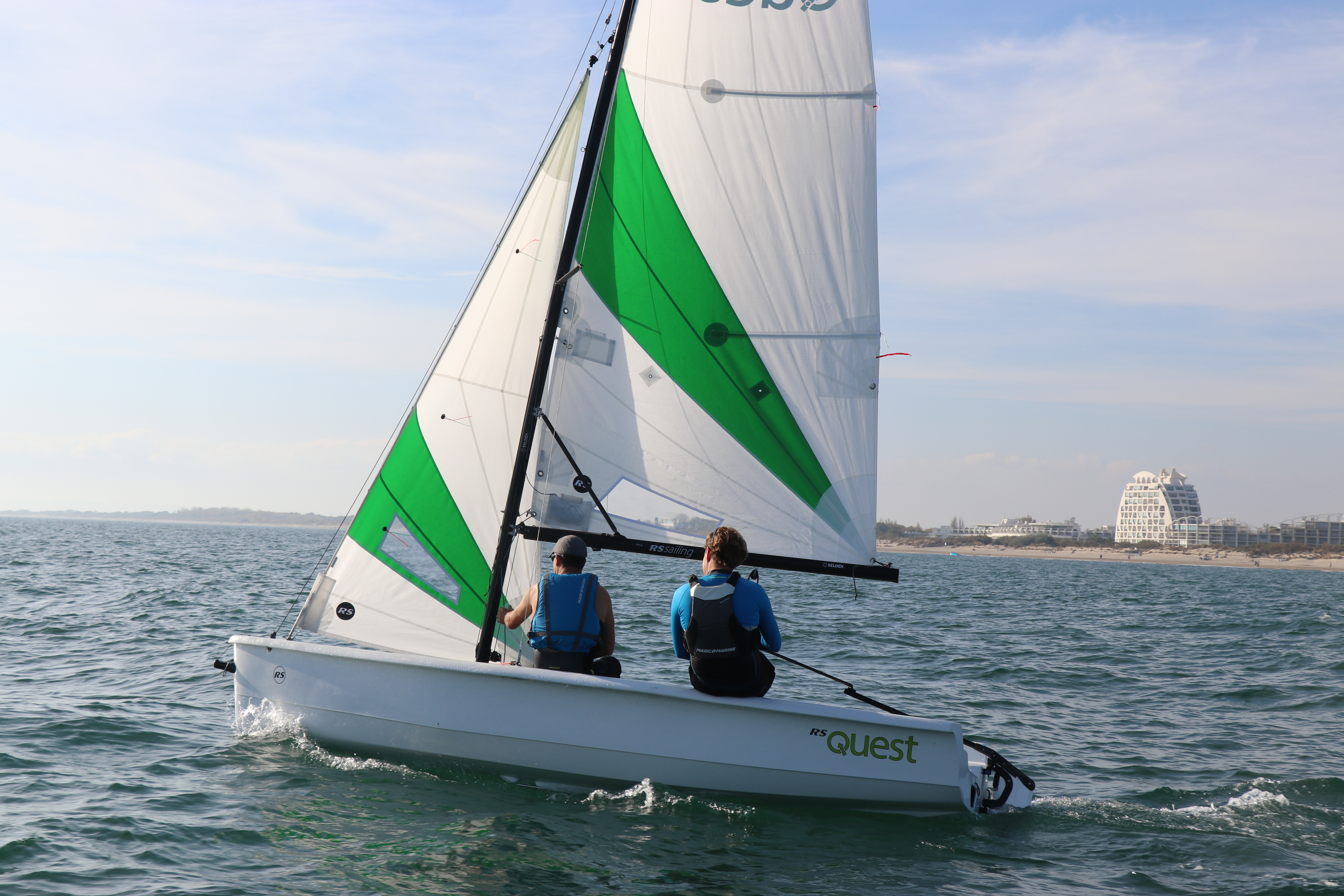 RS Quest has found international appeal among sailing clubs and programmes, with its simplicity, stability and durability.