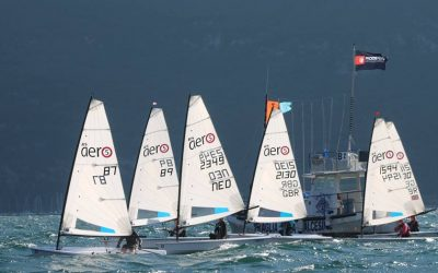 The RS Aero fleet prepares to battle it out at Lake Garda for the RS Aerocup title