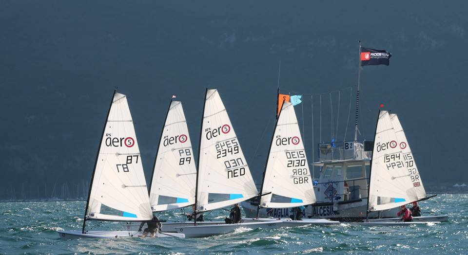 The RS Aero 7 fleet looked to be all tied up by Italy's Patrick Zeni with all 1,2s over the first two days.