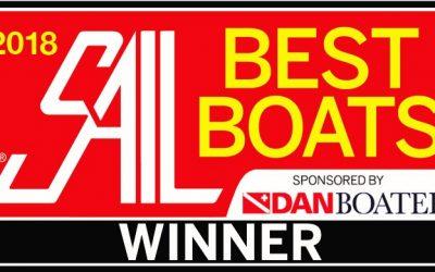 RS Zest wins 'Best Daysailer' at Sail Magazine's 2018 Best Boats Awards