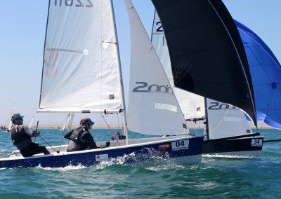 2000 racing dinghy