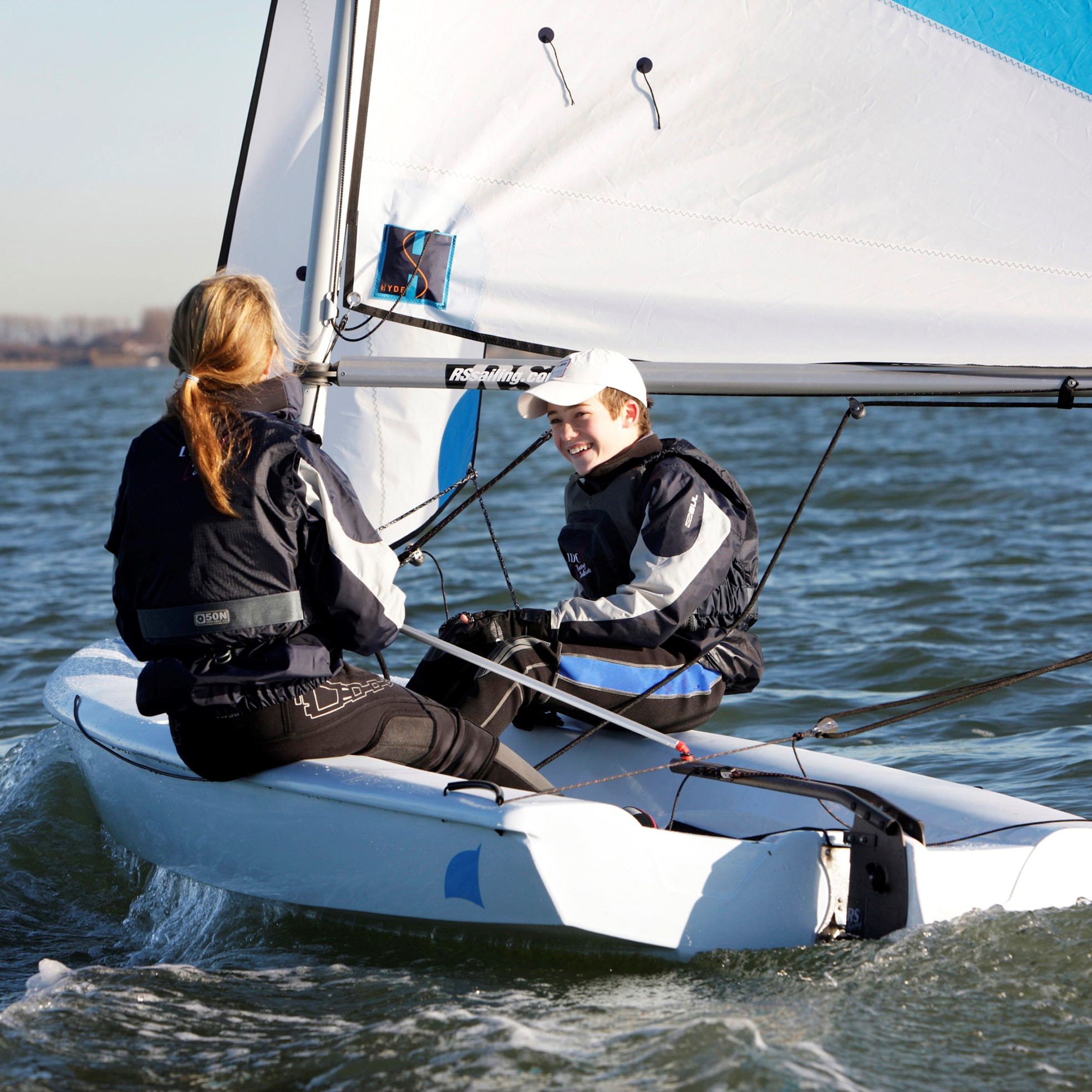 RS Quba is a one or two man monohull dinghy in the RS Sailing range of sailing boats. It is a popular boat for beginners.