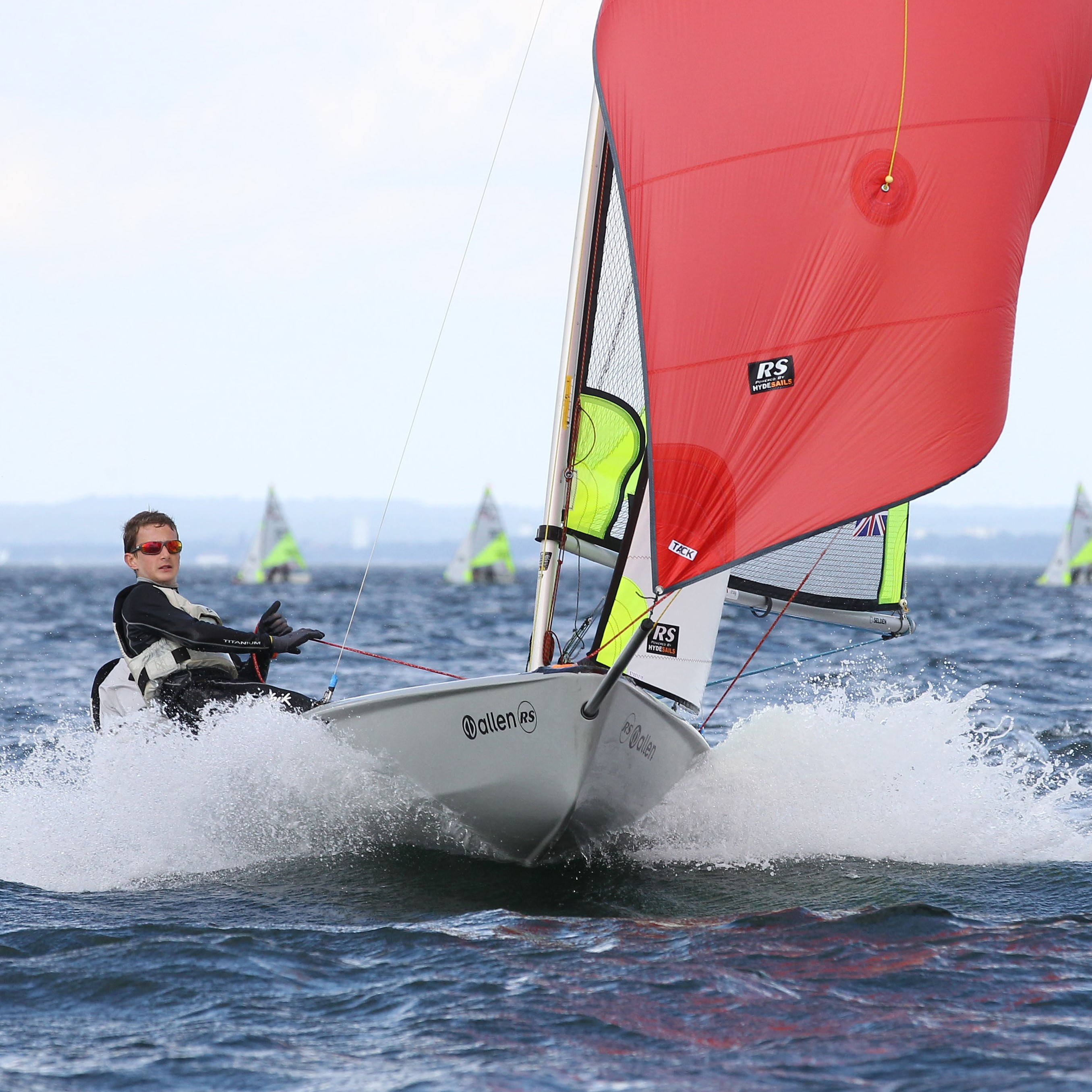 RS Feva XL Race -Including top cover and launching trolley.