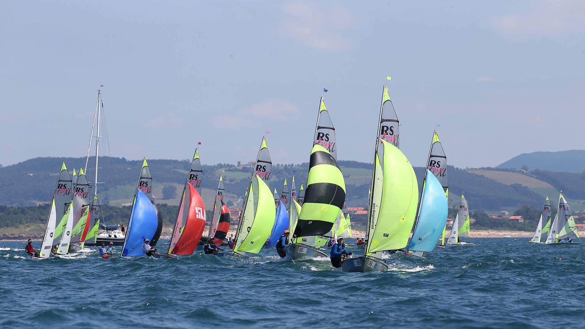 The RS Games a huge festival of everything that's great about small boat sailing.