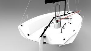 RS 21 Keelboat deckplan