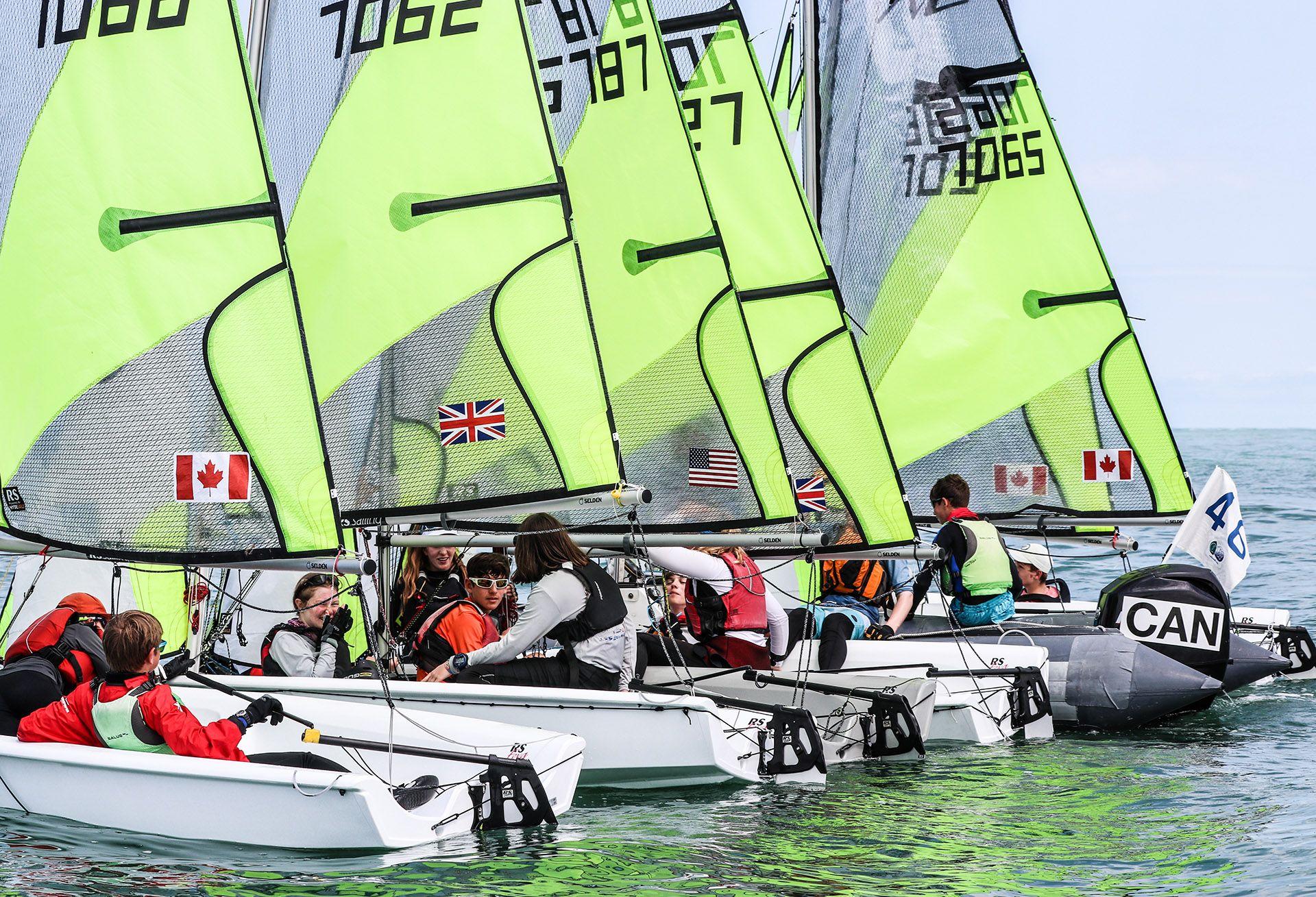 RS sailing boat