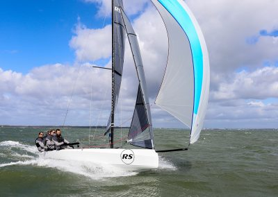 RS21 Keelboat Sailing Cowes