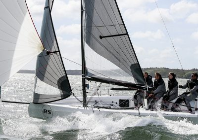 RS21 Keelboat Sailing