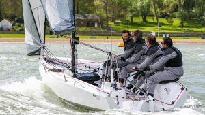 RS21 sailing Cowes