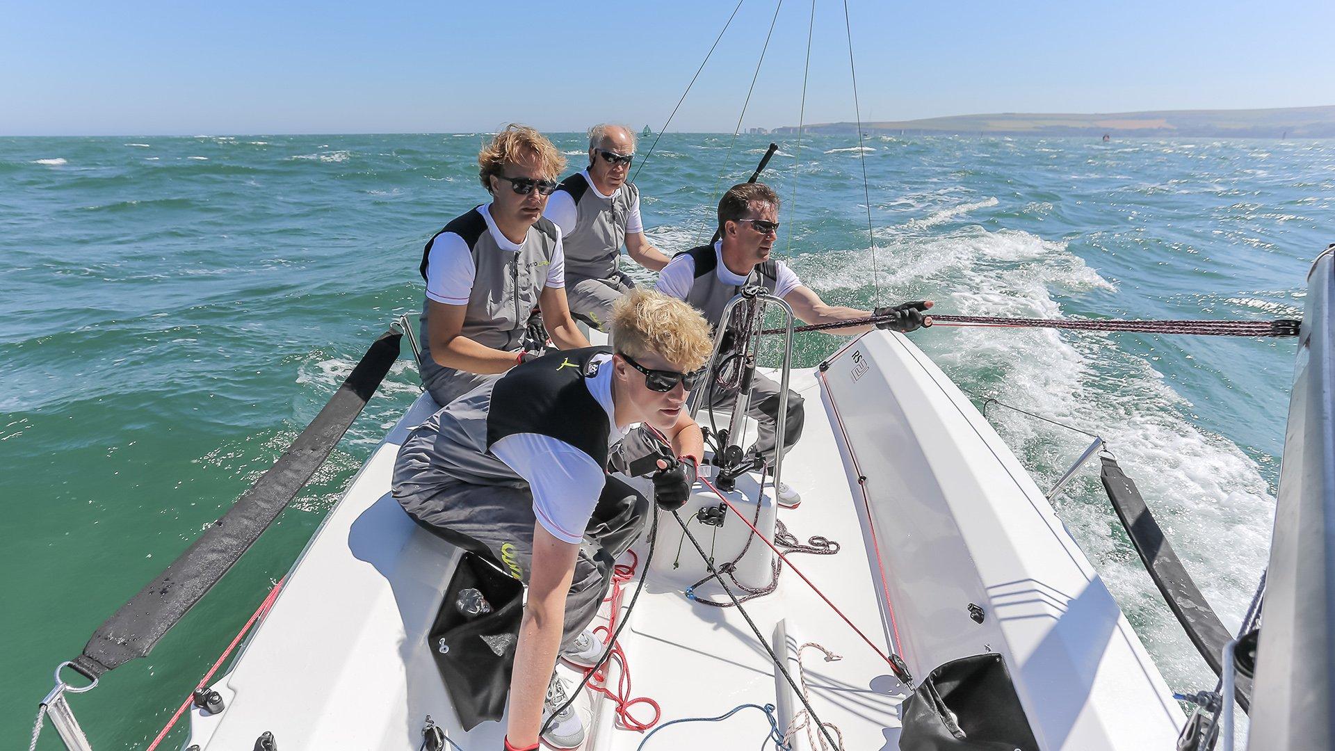 RS21 Sailing - Poole Harbour - Phil Jackson