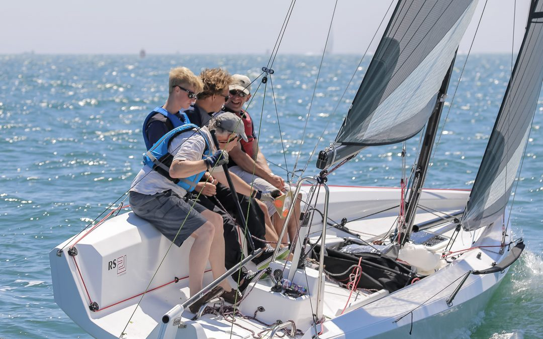 One week to go until the RS21 is showcased at the San Diego NOOD Regatta