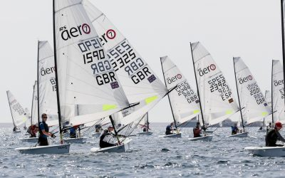 RS AeroCup and RS500 EuroCup in Bruinisse 14/15 September;  100 zeilers uit 12 landen.
