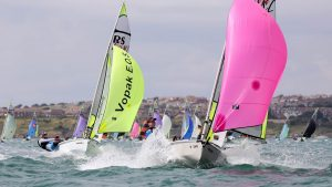 RS Feva Downwind