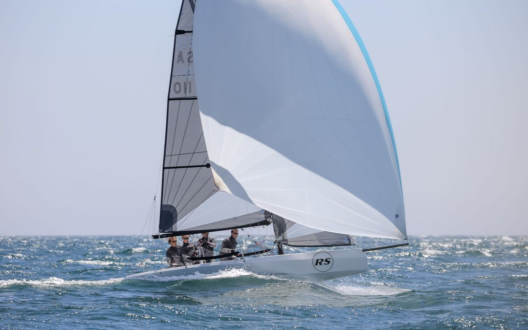 Open sailmaker restricted sail design (RSD) format introduced for the RS21