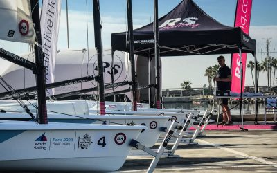 RS Aero wins 2024 Olympic Men's and Women's One Person Dinghy Equipment trials