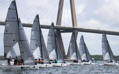 Six become eight as the RS21s take on Charleston Race Week