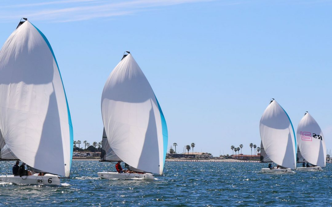 RS21s on the start line of Charleston Race Week