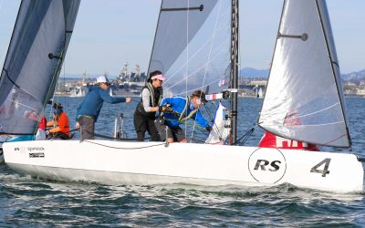 The RS21 'Six Pack' prepares for the Annapolis Helly Hansen NOOD Regatta