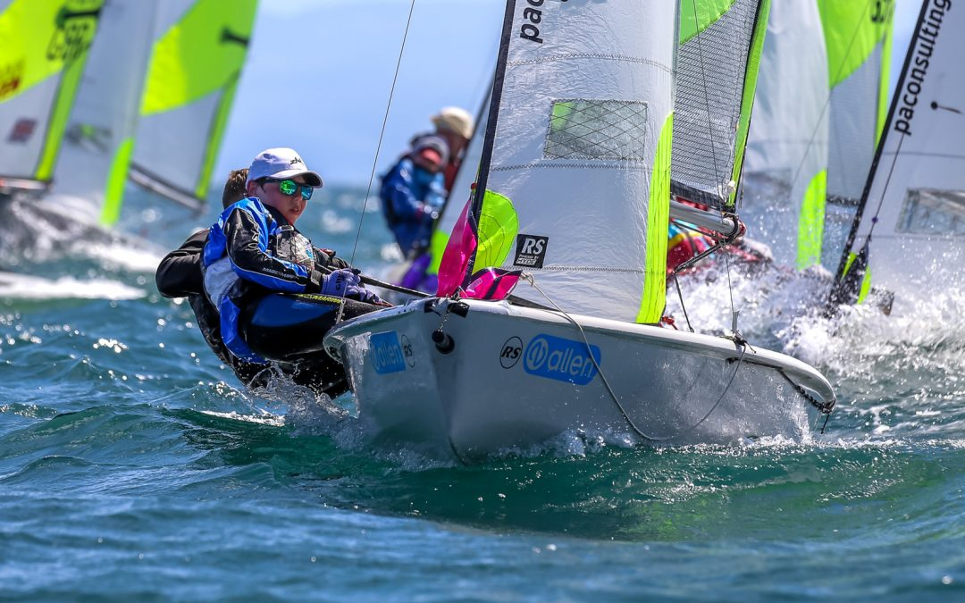 RS Feva European Championships 2019 – French pair claim the title in preparation for the Worlds