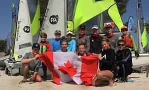 canadian sailors feva worlds