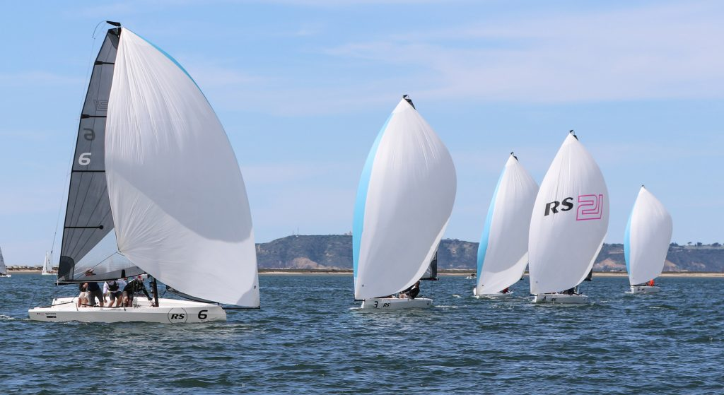 RS21's Down wind at the NOOD event